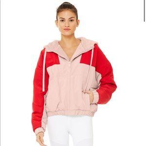 ALO Yoga reversible Sherpa jacket